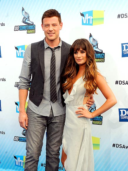 TWO CUTE photo | Cory Monteith, Lea Michele