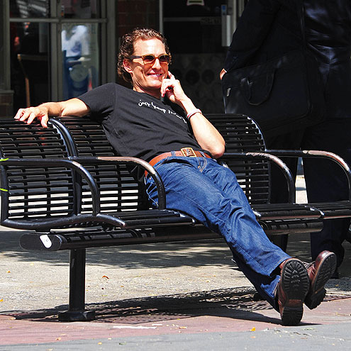 BENCH WARMER photo | Matthew McConaughey