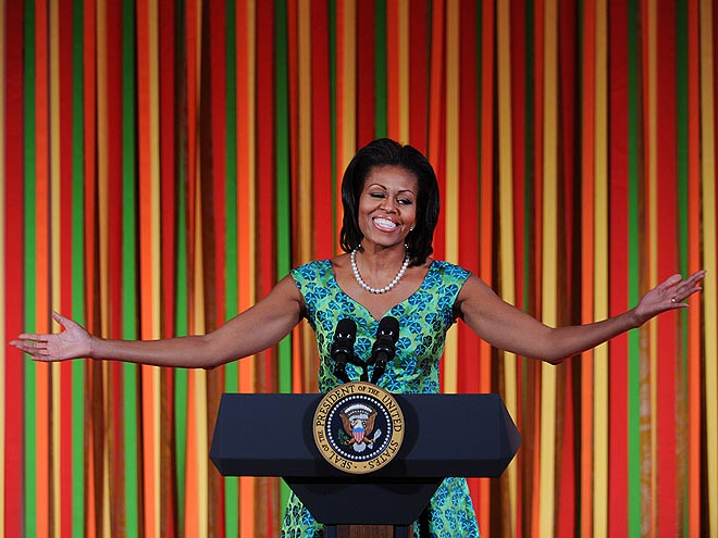WARM WELCOME photo | Michelle Obama