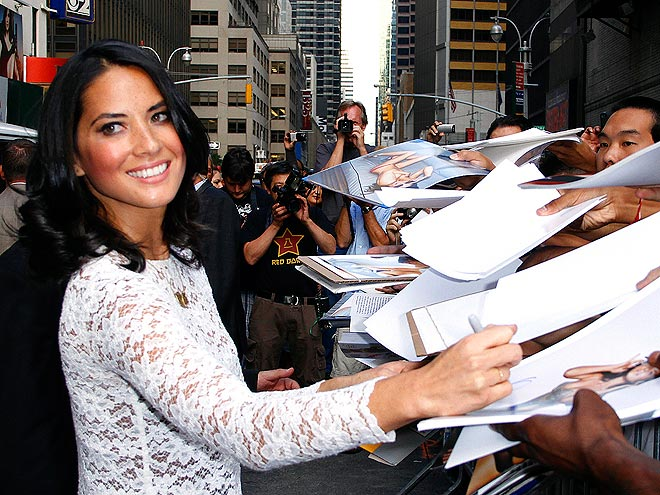 WRITE ON photo | Olivia Munn