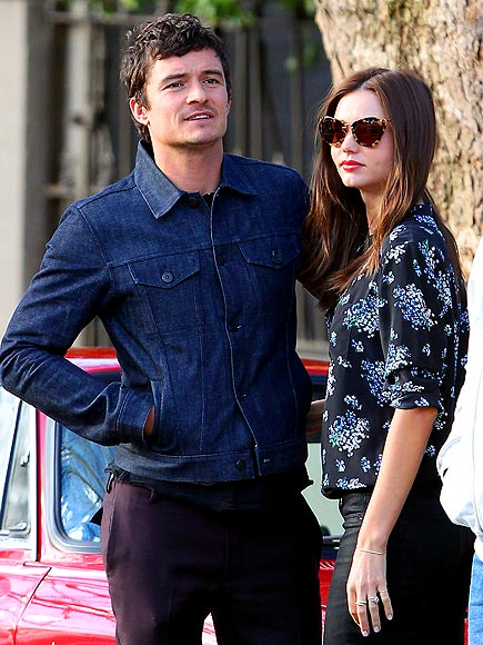BLOSSOM & BLOOM  photo | Miranda Kerr, Orlando Bloom
