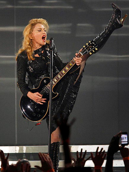 LEG UP photo | Madonna