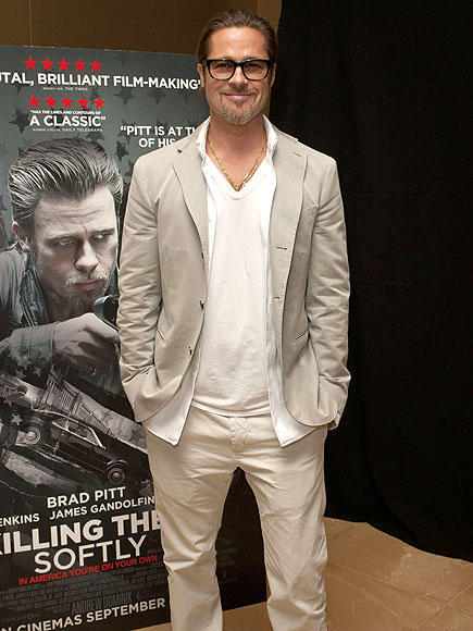 MIRROR IMAGE photo | Brad Pitt