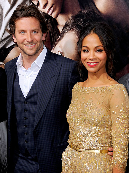 SHINING BRIGHT photo | Bradley Cooper, Zoe Saldana