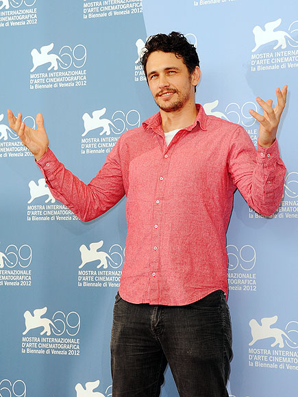 ARMS WIDE OPEN photo | James Franco