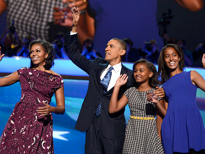PRIMETIME FAMILY photo | Barack Obama, Malia Obama, Michelle Obama, Sasha Obama