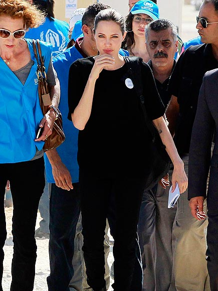 MODEL BEHAVIOR photo | Angelina Jolie