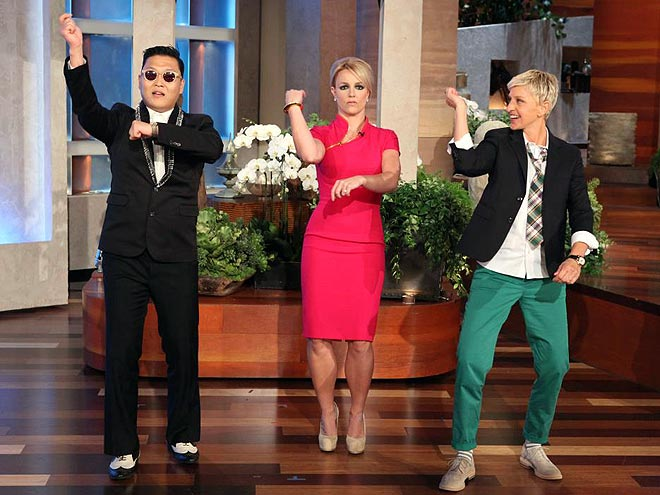 HOT TO TROT photo | Britney Spears, Ellen DeGeneres