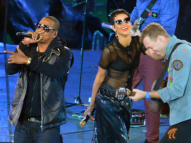 SEEING STARS photo | Chris Martin, Jay-Z, Rihanna