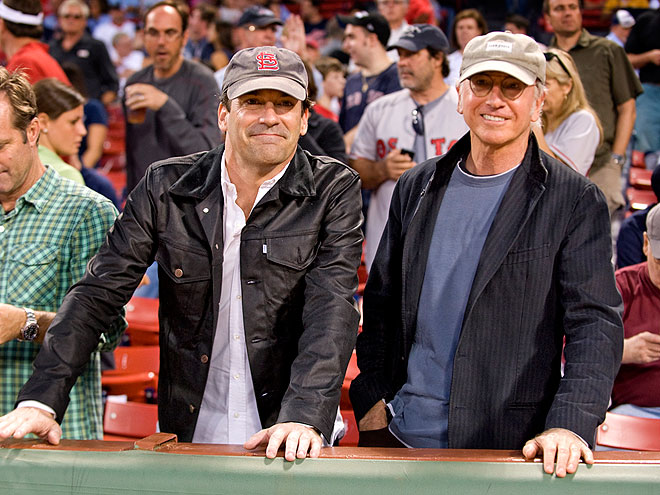 GOOD SPORTS photo | Jon Hamm, Larry David