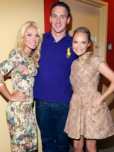 PURPLE REIGN photo | Kelly Ripa, Kristin Chenoweth, Ryan Lochte