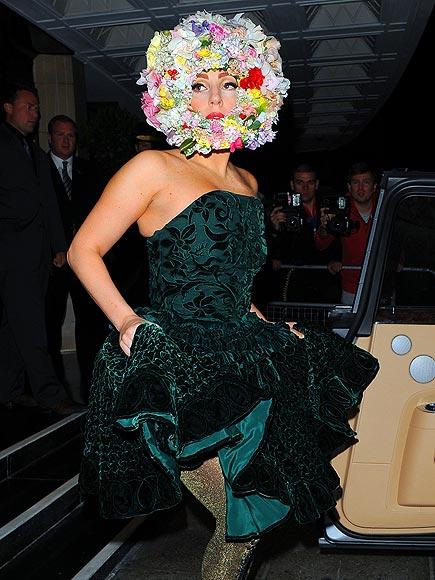 FLORAL CODE photo | Lady Gaga