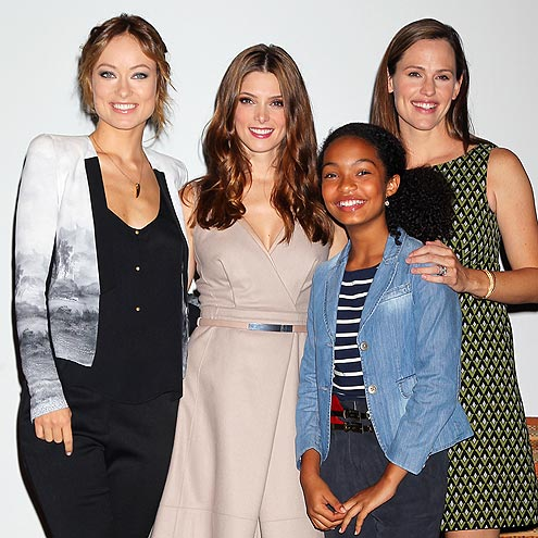 SOCIAL BUTTERFLIES photo | Ashley Greene, Jennifer Garner, Olivia Wilde