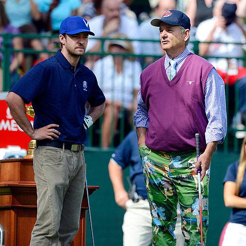 TEE TIME photo | Bill Murray, Justin Timberlake