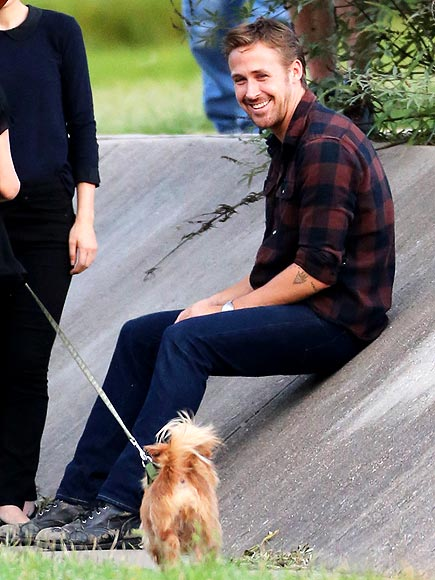 DOGGONE CUTE photo | Ryan Gosling