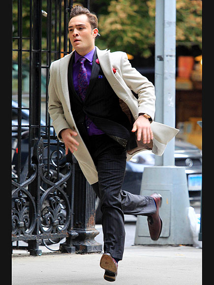 RUN THROUGH photo | Ed Westwick