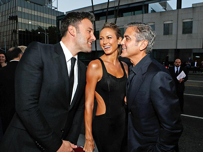 MAKE A MOVE photo | Ben Affleck, George Clooney, Stacy Keibler