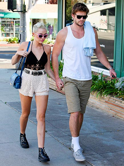 WALK THE WALK photo | Liam Hemsworth, Miley Cyrus