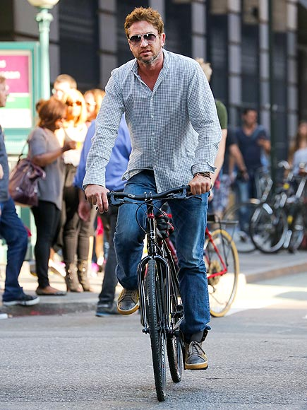 CYCLE THROUGH photo | Gerard Butler