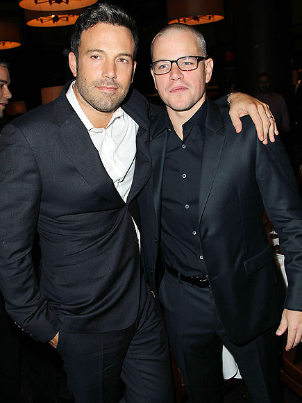 MEN ABOUT TOWN photo | Ben Affleck, Matt Damon