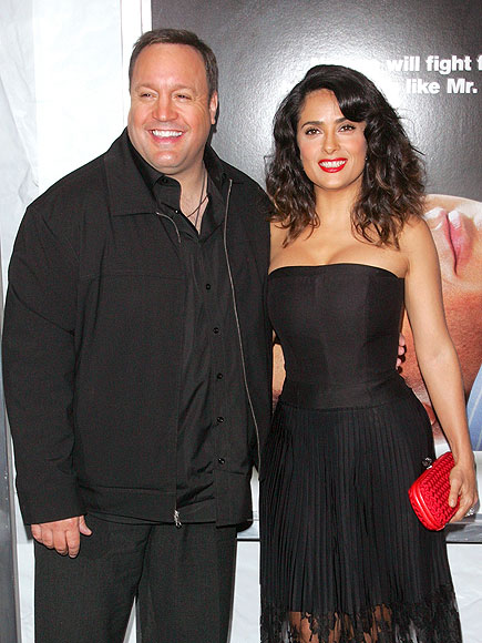 BOOM' THERE IT IS photo | Kevin James, Salma Hayek