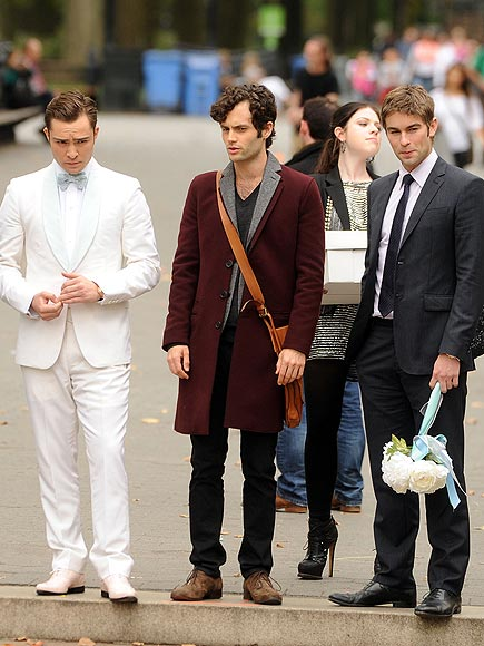 JACKET REQUIRED photo | Chace Crawford, Ed Westwick, Penn Badgley