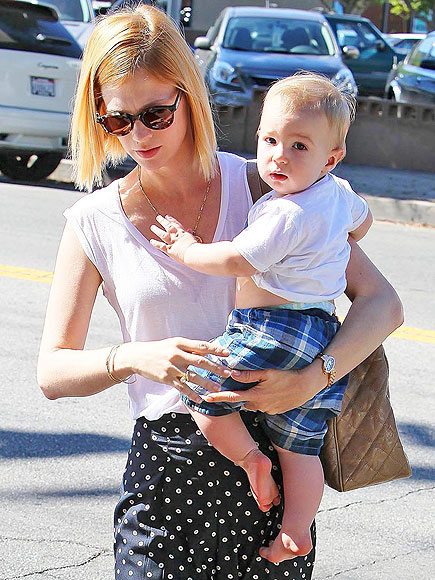 SPOTS & STRIPES photo | January Jones
