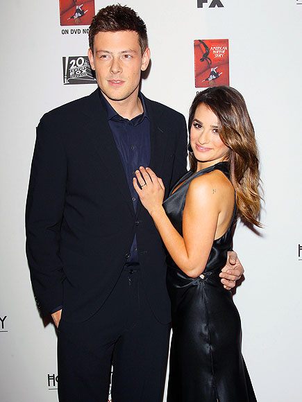 COUPLE UP photo | Cory Monteith, Lea Michele