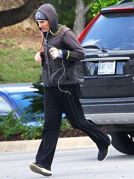 GOTTA RUN photo   Matthew McConaughey