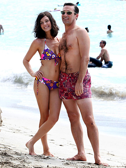 MUSCLE BEACH photo | Jessica Pare, Jon Hamm