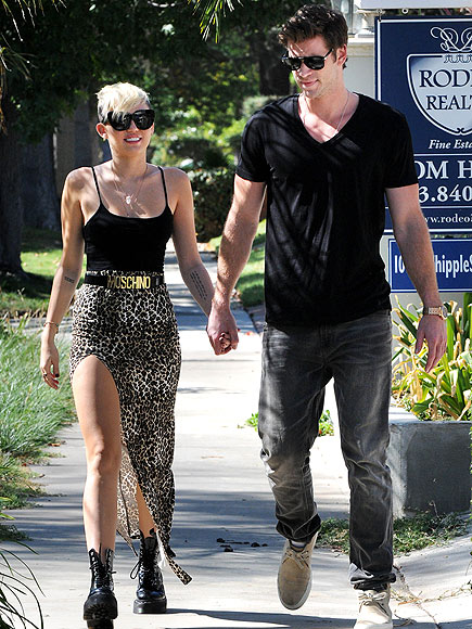 ANIMAL INSTINCTS photo | Liam Hemsworth, Miley Cyrus