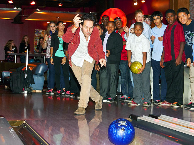 BOWLED OVER photo | Paul Rudd