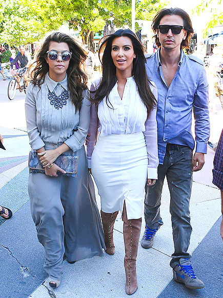 TRENDY TRIO photo | Kim Kardashian, Kourtney Kardashian
