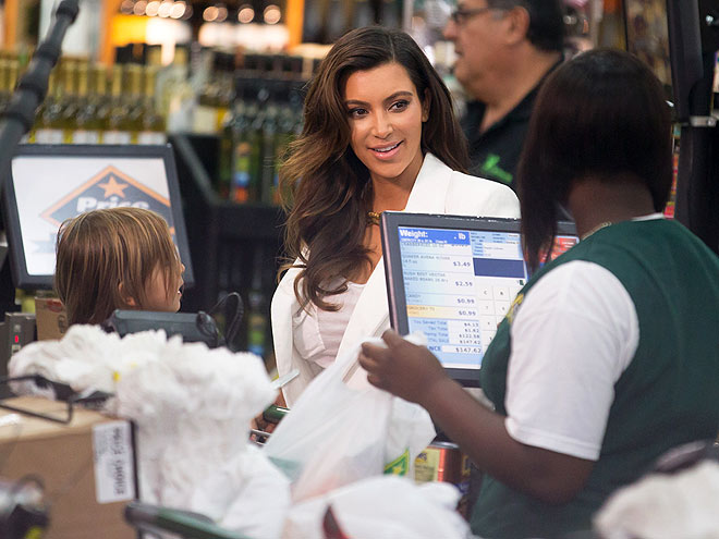 SUPERMARKET SWEEP photo | Kim Kardashian