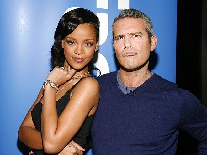 FAST FRIENDS photo | Andy Cohen, Rihanna
