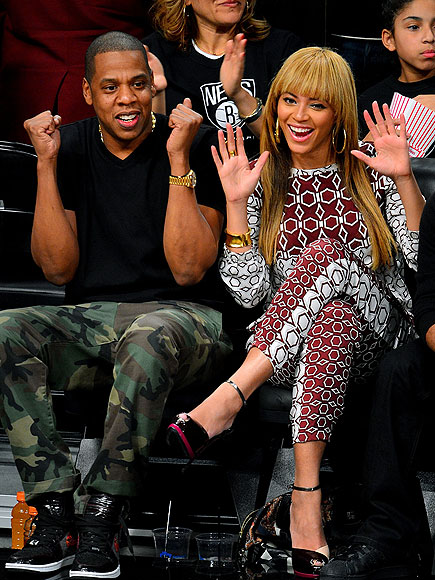 RIGHT AT HOME photo | Beyonce Knowles, Jay-Z