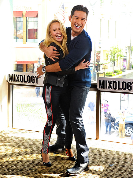 WRAP AROUND photo | Hayden Panettiere, Mario Lopez