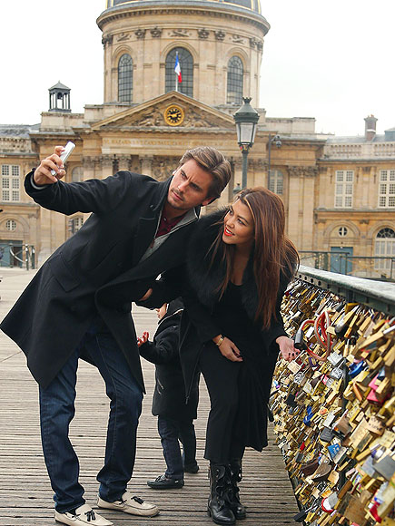 LOCK DOWN photo | Kourtney Kardashian, Scott Disick