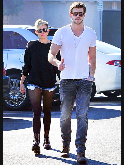 SEAL OF APPROVAL photo | Liam Hemsworth, Miley Cyrus