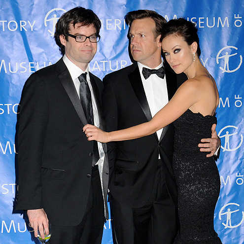 MIXED EMOTIONS photo | Bill Hader, Jason Sudeikis, Olivia Wilde