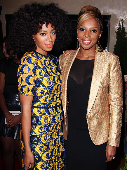 LADIES' NIGHT photo | Mary J. Blige, Solange Knowles