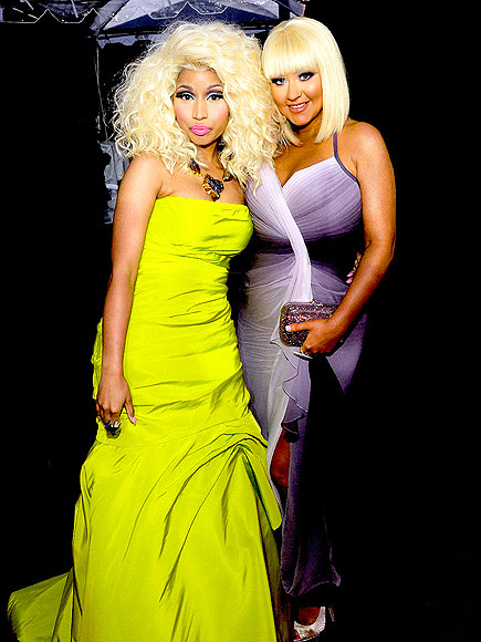 JUDGE BUDS photo | Christina Aguilera, Nicki Minaj