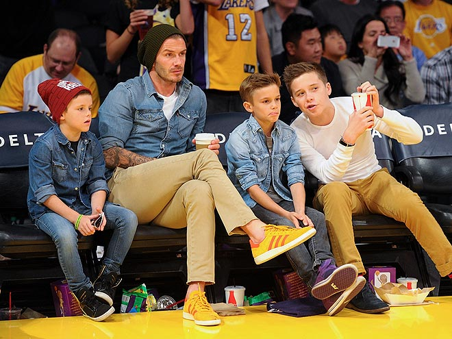 BOYS' NIGHT OUT photo | David Beckham