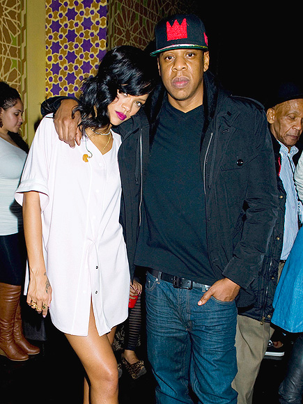 IN THE HOUSE photo | Jay-Z, Rihanna