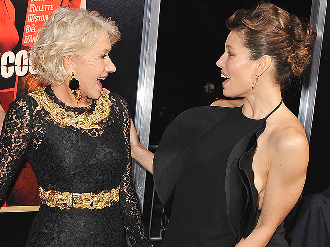MEET & GREET photo | Helen Mirren, Jessica Biel