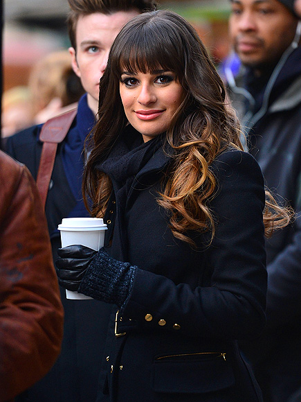 WARMING UP photo | Lea Michele