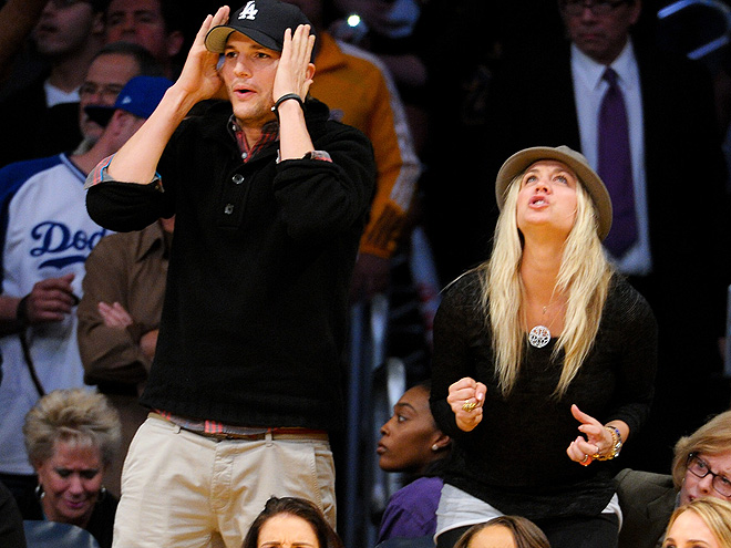 SPECTATOR SPORT photo | Ashton Kutcher, Kaley Cuoco
