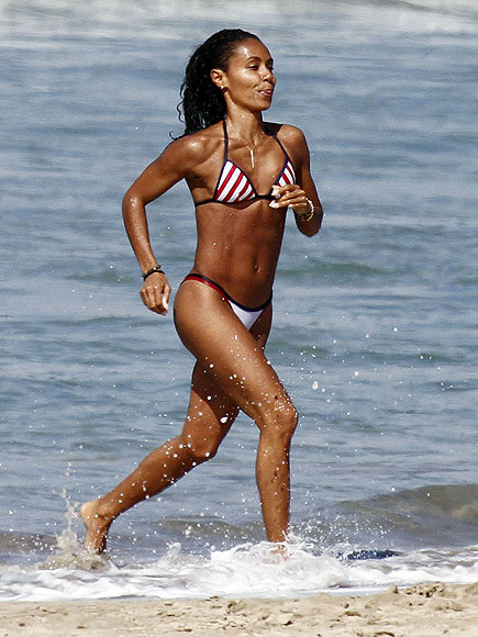 RED-HOT STRIPES photo | Jada Pinkett Smith
