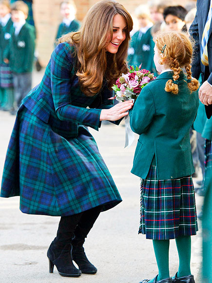 PLAID ABOUT YOU photo | Kate Middleton