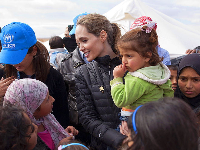 STAR SIGHTING photo | Angelina Jolie